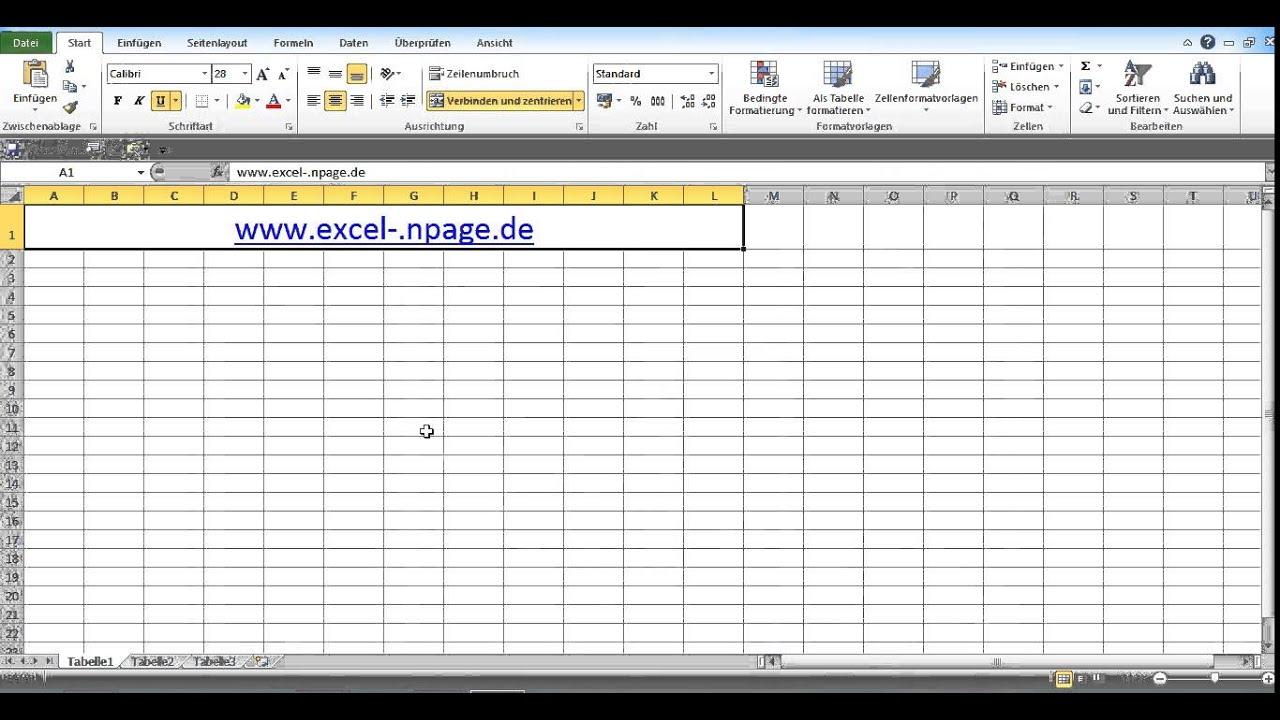 Datenbank Programm In Excel Vba Selber Erstellen 1 Excel
