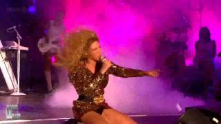 Beyonce - The Beautiful Ones & Sex On Fire Live at Glastonbury 2011...