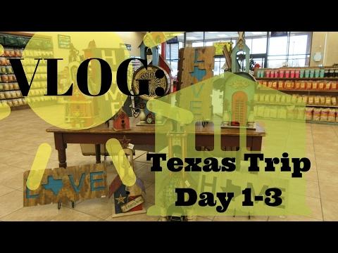 VLOG: Texas Trip (Austin, San Antonio, Houston) Day 1-3