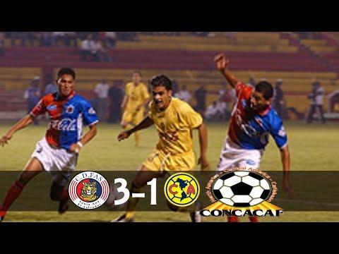 CD FAS [ES/3] vs Club America [MEX/1] FULL GAME : CCC2003 : 3.6.2003