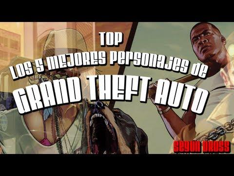 TOP 5: Los Mejores Personajes de Grand Theft Auto