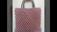 debcb99bdf1 Πλεκτή τσάντα!!! Μέρος 3ο! Art of crochet - by Airis - Duration: 11 minutes.