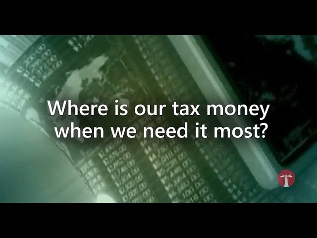 Where Is Our Tax Money When We Need It The Most?