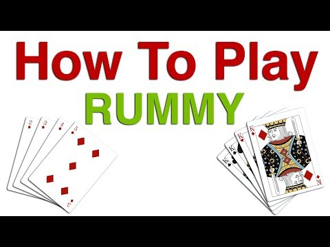 Learn Rummy Card Game Rules & Instructions | How To Play Rummy Card Game | Rummy Game Tutorial