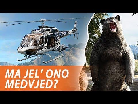 SRUŠIO SAM HELIKOPTER I UBIO MEDU - Far Cry 5
