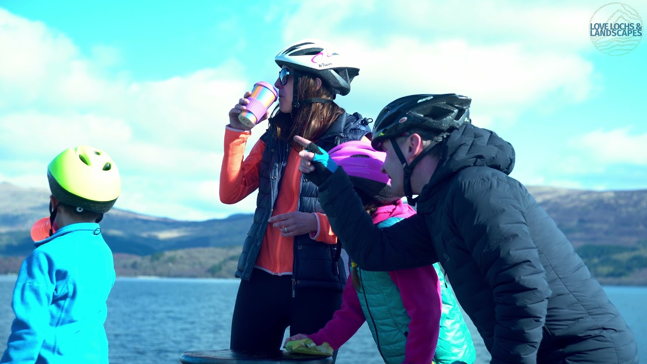 Explore adventures in #LochLomond and the #Trossachs – cycle day out