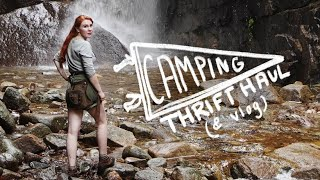 A Camping Thrift Haul! (& vlog hehe)