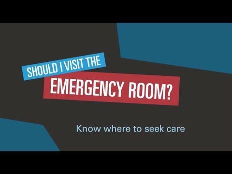 Should I Go To The ER?