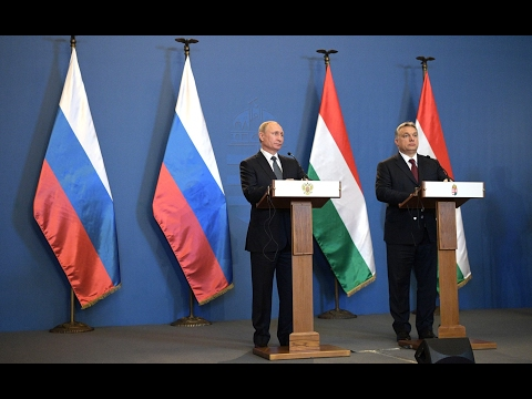 Vladimir Putin. Joint news conference with Hungarian Prime Minister Viktor Orban (Eng Sub)