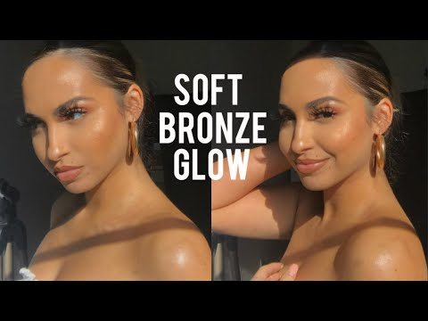GLOWY BRONZE MAKEUP / STEP-BY-STEP TIPS & TRICKS thumbnail