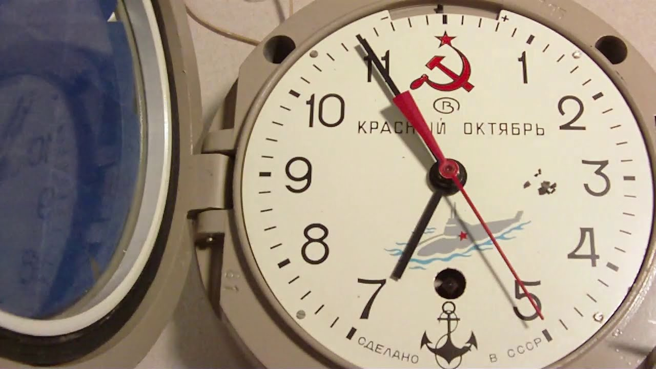 Finding Out Why Clock Don T Work Soviet Russian Submarine
