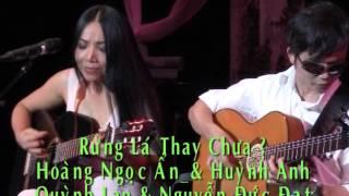 Rừng Lá Thay Chưa _ Quỳnh Lan & Nguyễn Đức Đạt (In Live show of Mien Du Dalat)