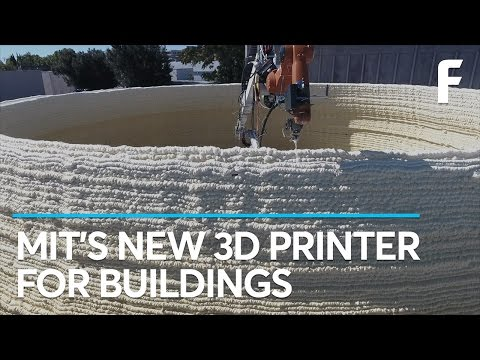 MIT Can 3D Print A Building In Hours