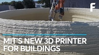 MIT Can 3D Print a Building in Hours Construction just took a huge leap forward.