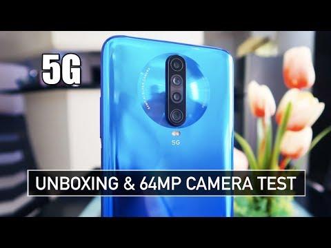 Xiaomi Redmi K30 5G UNBOXING & CAMERA TEST