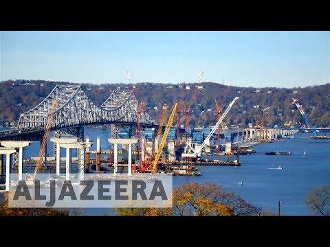 New York unveils first bridge in 50 years
