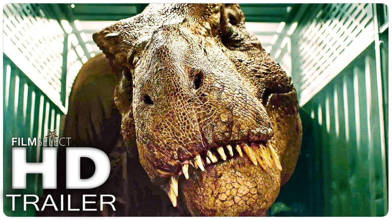 Jurassic world regno distrutto trailer italiano youtube