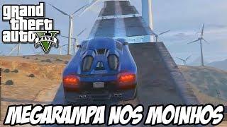 GTA V - A MEGARAMPA NOS MOINHOS