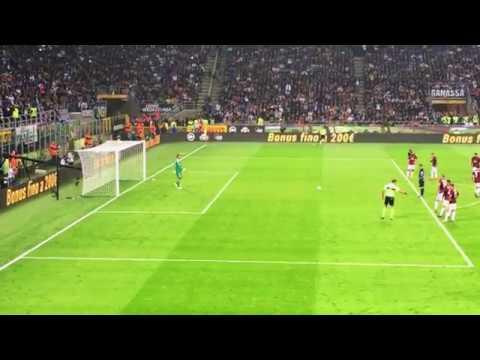 Inter  Milan 3-2 rigore Icardi 15-10-2017