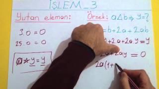 İşlem 3 Şenol Hoca Matematik
