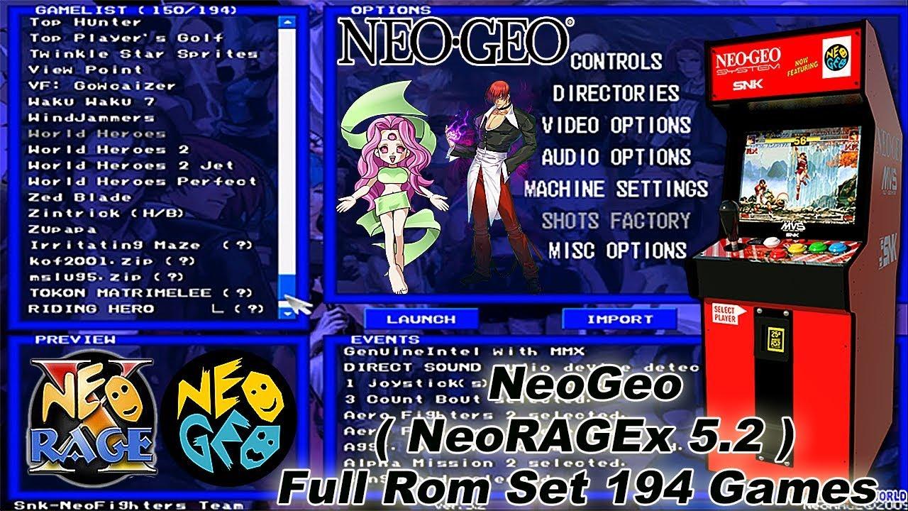 Neoragex Rom Download