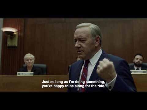 Frank Underwood Explains Why We Watch