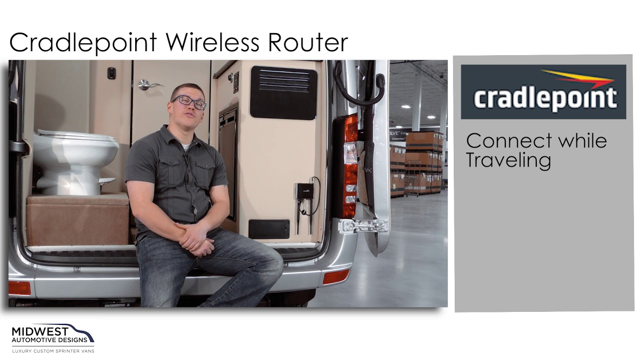Reaching the Internet with Your Cradlepoint Wireless Router
