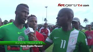 Kelechi Iheanacho Speaks Of His Readiness For The World Cup