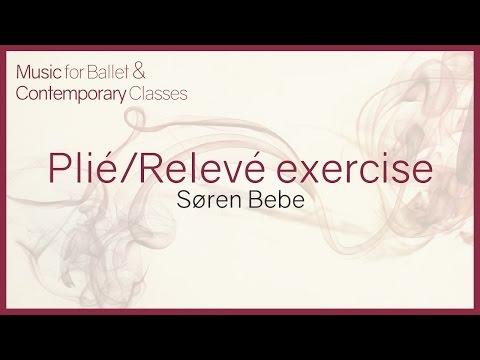 Music for Ballet Class. Plié/Relevé exercise