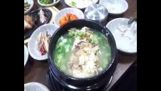 Корейский куриный супчик Самгетан