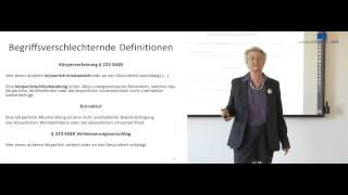 Methodenlehre der Rechtswissenschaft Teil II  Prof Ingeborg Puppe
