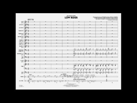 Low Rider arranged by John Berry