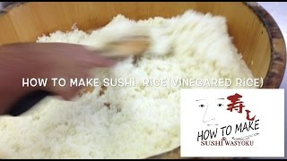 How To Make Sushi Rice(vinegared Rice)step2・how To Mix・japanese Sushi Chef Of Professional