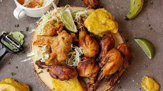 Haitian Fried Chicken | Best Fry Chicken Recipe Without Flour | Episode 132