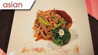 Yu Xiang Pork And Spinach Leaves -  Silent Cooking With Simon Xie Hong (with Recipe)