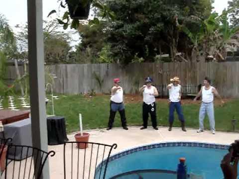 Mary Snyder Wedding Shower Guys Macho Man Dance Ma...