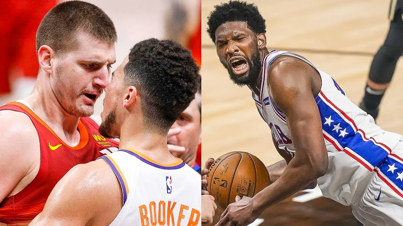 """NBA """"Playoffs are Heated !"""" MOMENTS"""