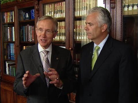 Reid and Ensign Discuss Bill to Promote Tourism