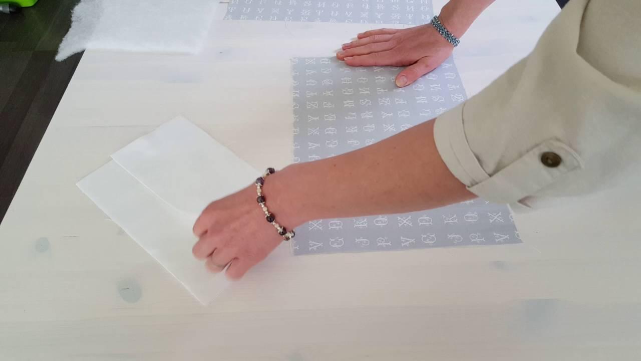tutoriel pour faire un prot ge carnet de sant youtube. Black Bedroom Furniture Sets. Home Design Ideas