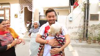 surprise visit to india #daman# 1april18