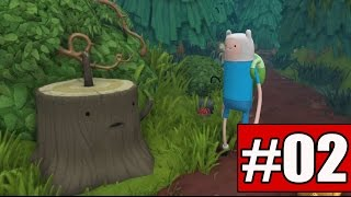 Adventure Time Finn and Jake Investigations Walkthrough Part 2 Gameplay Lets Play