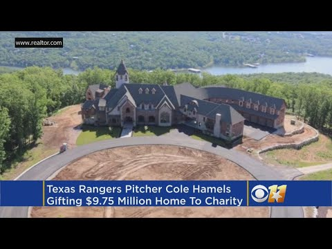 Cole Hamels, Wife Donating Nearly $10M Mansion To Charity