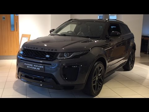 2017 range rover evoque coupe exterior and interior review youtube. Black Bedroom Furniture Sets. Home Design Ideas
