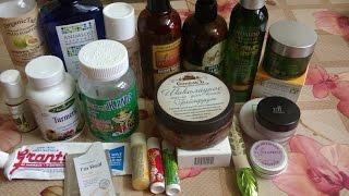 Пустые баночки октября ЧАСТЬ 1.Только органика (декоративная, уходовая косметика,витамины ) Thumbnail