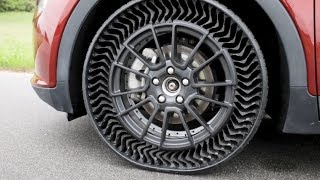 Michelin Introduce Puncture Proof Airless Tire