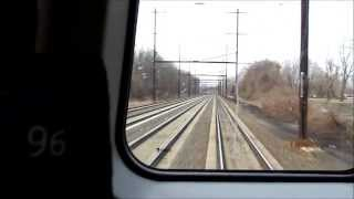 SEPTA HD EXCLUSIVE: Rotem Silverliner V Acceleration from 0-95 MPH Out of Levittown on the NEC
