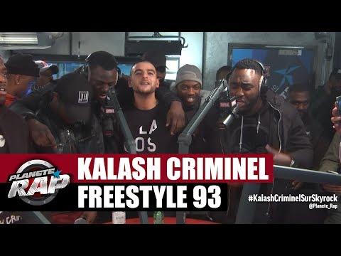 Kalash Criminel - Freestyle 93 #PlanèteRap
