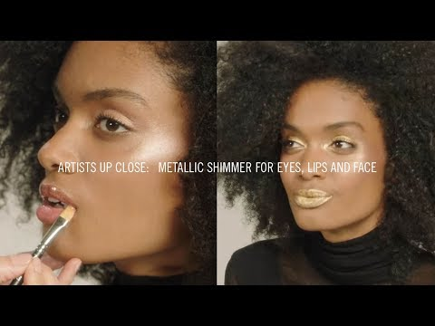 How To: Metallic Shimmer for Eyes, Lips and Face I MAC Tutorial