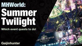 Monster Hunter World: Summer Twilight Events