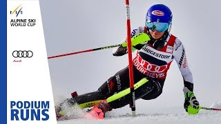 Mikaela Shiffrin | Ladies' Slalom | Courchevel | 1st place | FIS Alpine